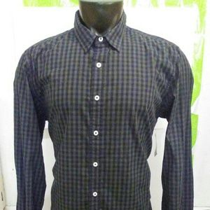American Rag CIE Long Sleeve Button Front Shirt